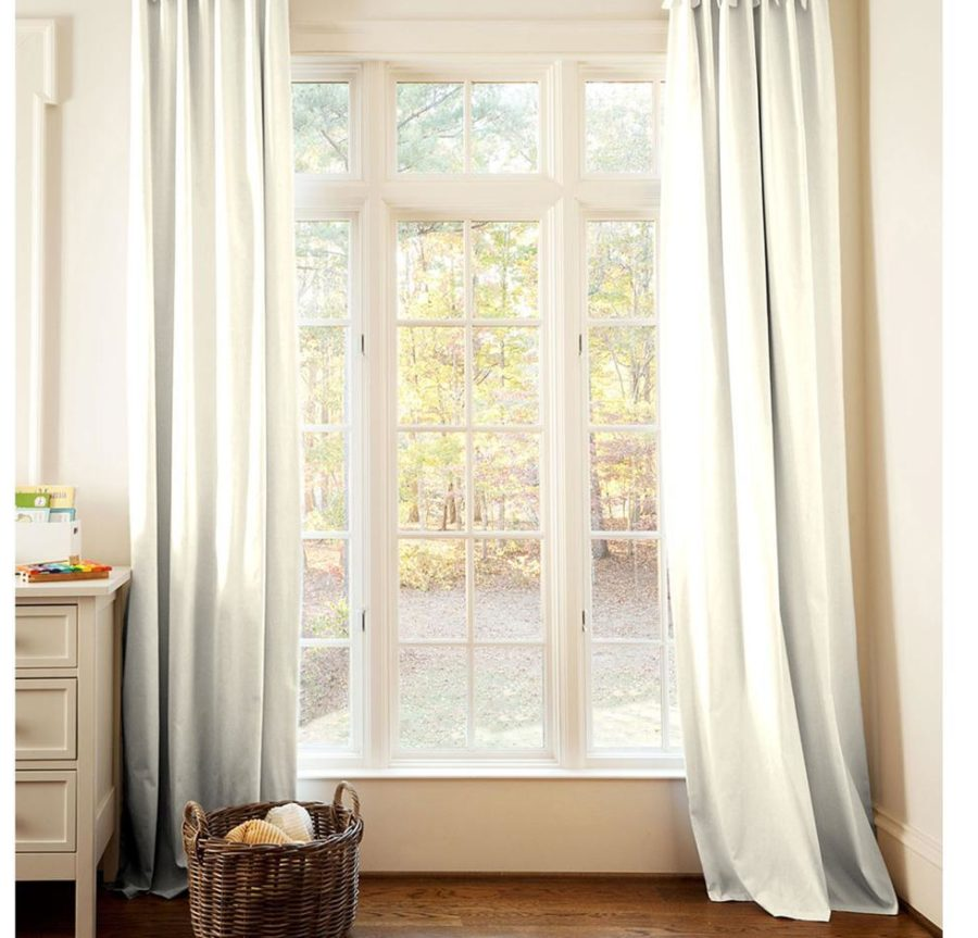 Ivory Linen Curtains